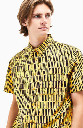 HUF Night Market Short Sleeve Button Up Shirt