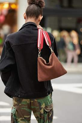 Urban Outfitters Suede Shoulder Pouch Bag