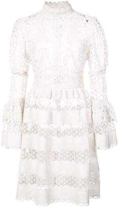 Anna Sui Dew Drop and trellis lace dress