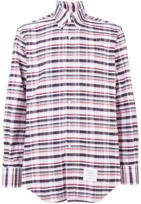 Thom Browne classic checked shirt