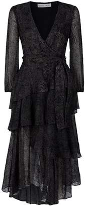 Shona Joy Bowie Tiered Midi Dress