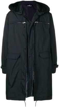 Stone Island Shadow Project zipped parka coat