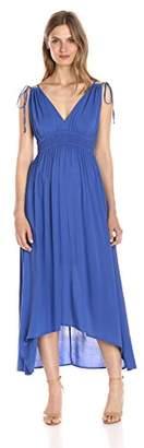 Lark & Ro Women's Sleeveless Midi High-Low Dress