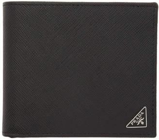 0d2e932963d9 Prada Black Saffiano Bifold Wallet