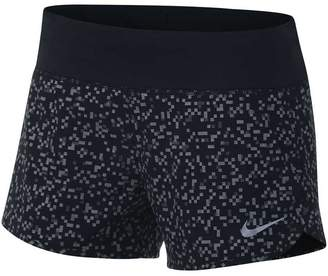 Nike Womens Flex 3in Printed Running Shorts