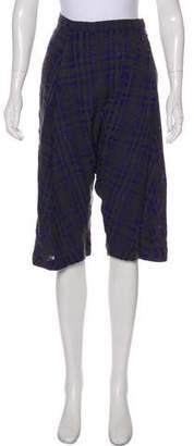 Rachel Comey Drop-Crotch Knit Shorts