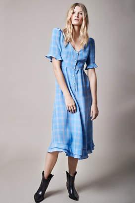 Smythe Frontier Checker Dress
