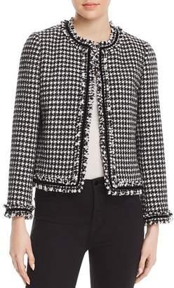 Kate Spade Houndstooth Tweed Jacket