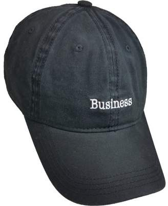 """Unbranded Men's """"Business Party"""" Distressed Dad Hat"""