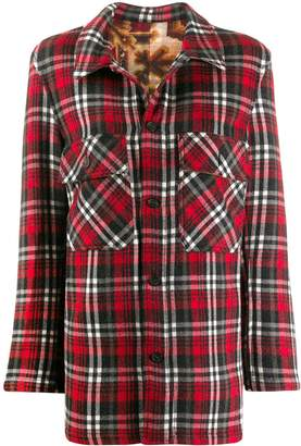 Pierre Louis Mascia Pierre-Louis Mascia flannel jacket