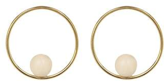 Soko Sawa Front Facing Hoop Earrings