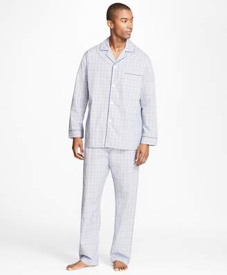 Brooks Brothers Plaid with Deco Pajamas