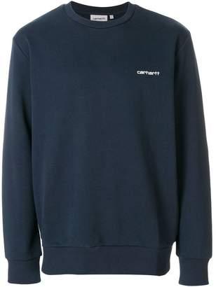 Carhartt embroidered logo sweatshirt