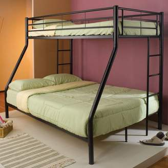 Coaster Company Coaster Hayward Twin/Full Bunk Bed, finished in black