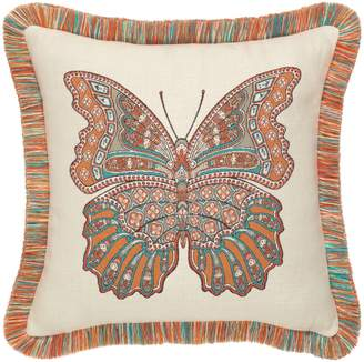 Elaine Smith Mariposa Lagoon Indoor/Outdoor Accent Pillow