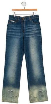 804fd5ea9de Dolce & Gabbana Boys' Distressed Jeans ...