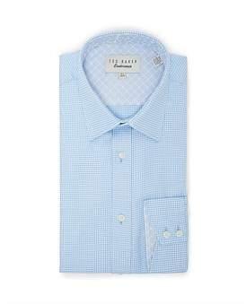 Ted Baker L/S Cotton Mini Geo Dobby S/Cuff Shirt
