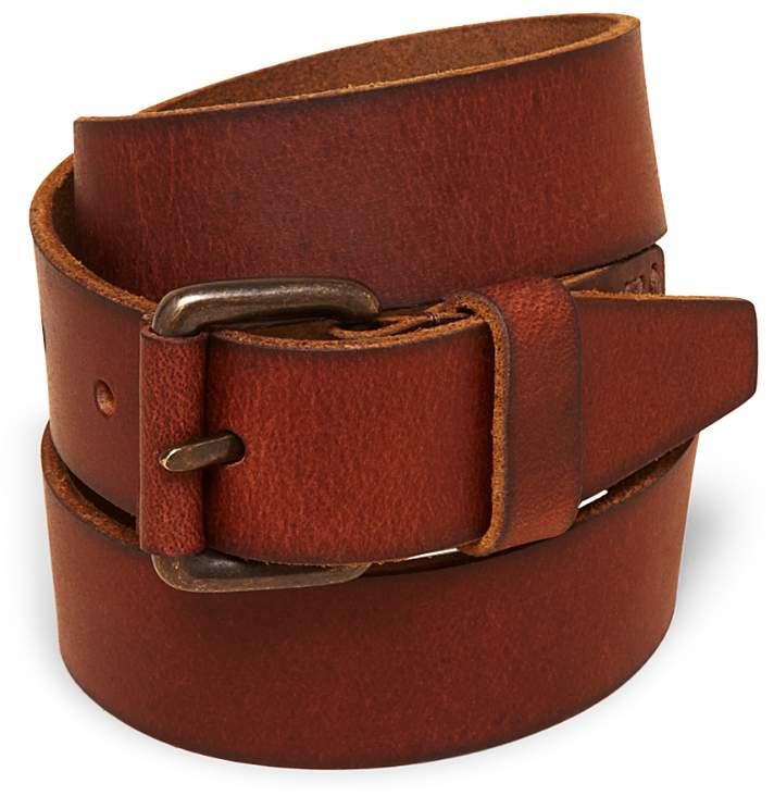 Boys' Leather Belt, Little Kid, Big Kid - 100% Exclusive