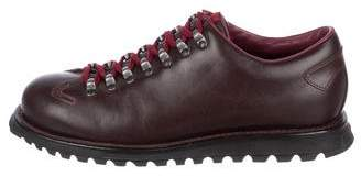 Prada Sport Leather Lace-Up Sneakers