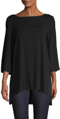 Eileen Fisher Bell-Sleeve Linen Top