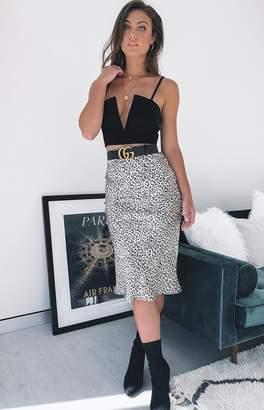 Beginning Boutique Essie Skirt Leopard