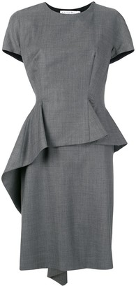 Christian Dior Pre-Owned structured dress