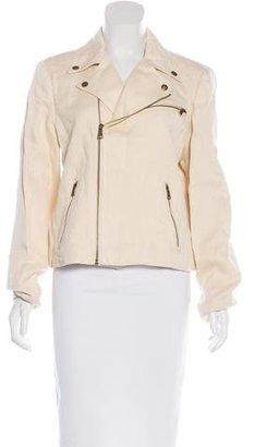 Lauren Ralph Lauren Herringbone Moto Jacket w/ Tags $125 thestylecure.com
