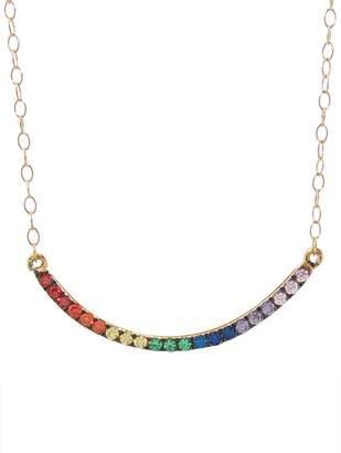 Ileana Makri EYE M by Rainbow Rain Necklace
