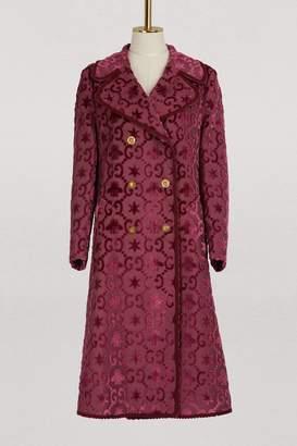 Gucci GG Star velvet coat