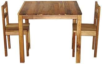 Qtoys QToys Kids Table & Chair Set, Natural