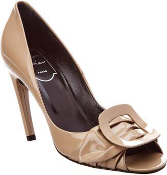 Roger Vivier Patent Heeled Sandal