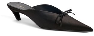 Women's Balenciaga Pointy Toe Mule $665 thestylecure.com