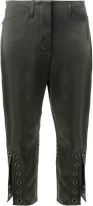 Fendi eyelet cropped trousers