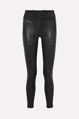 Jason Wu Leather Skinny Pants - Black