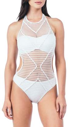 Kenneth Cole New York Wrapped in Love One-Piece Swimsuit