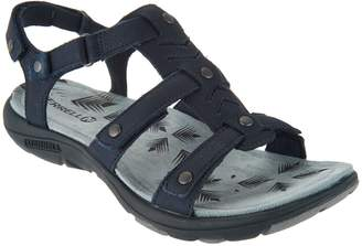 Merrell Triple Strap Leather Sandals - Adhera Three Strap II
