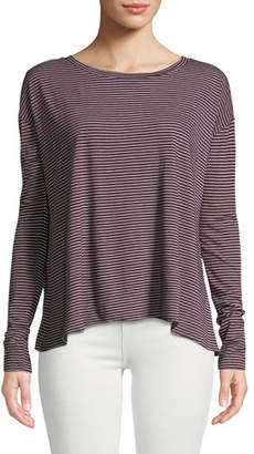 Frank And Eileen Core Striped Long-Sleeve Tee