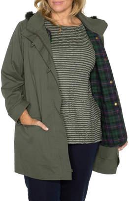 Stitch Detail Hooded Jacket