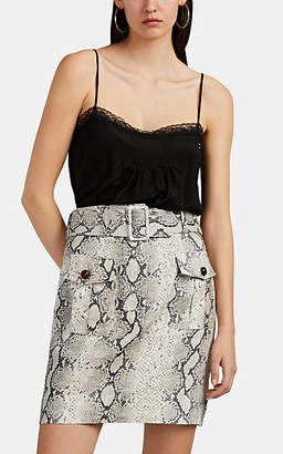 Zimmermann Women's Lace-Trimmed Silk Cami - Black