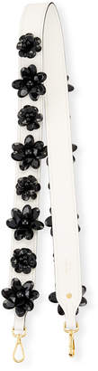 Prada Flower Charm Leather Strap for Handbag