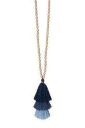 Occasionally Made Long Tassel Necklace