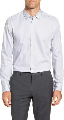 Ted Baker Aspara Modern Fit Geometric Dress Shirt