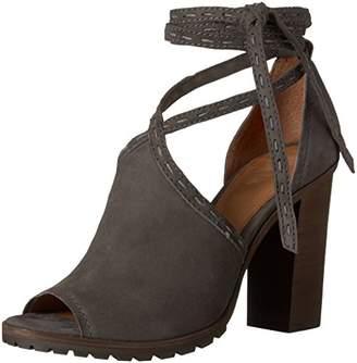 Frye Women's Suzie Pickstitch Lug Heeled Sandal