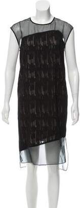 Helmut Lang Silk Midi Dress
