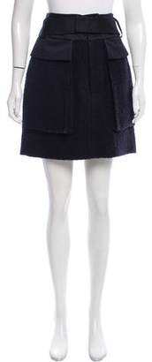 Reed Krakoff Knee-Length Wool Skirt