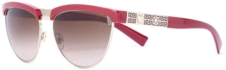 Versace cut-out frame sunglasses