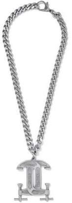Moschino Silver-Tone Necklace