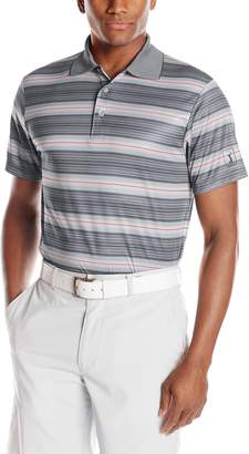 PGA TOUR Men's Golf Performance Diffused Ombre Short Sleeve Polo Shirt