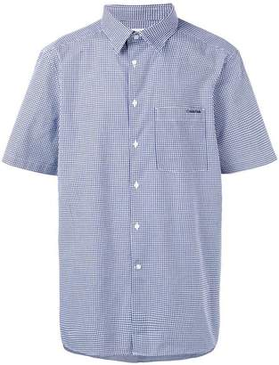 Calvin Klein short sleeve checked shirt