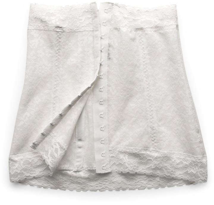 Rago Wearer's Pride Waist Corselet in White